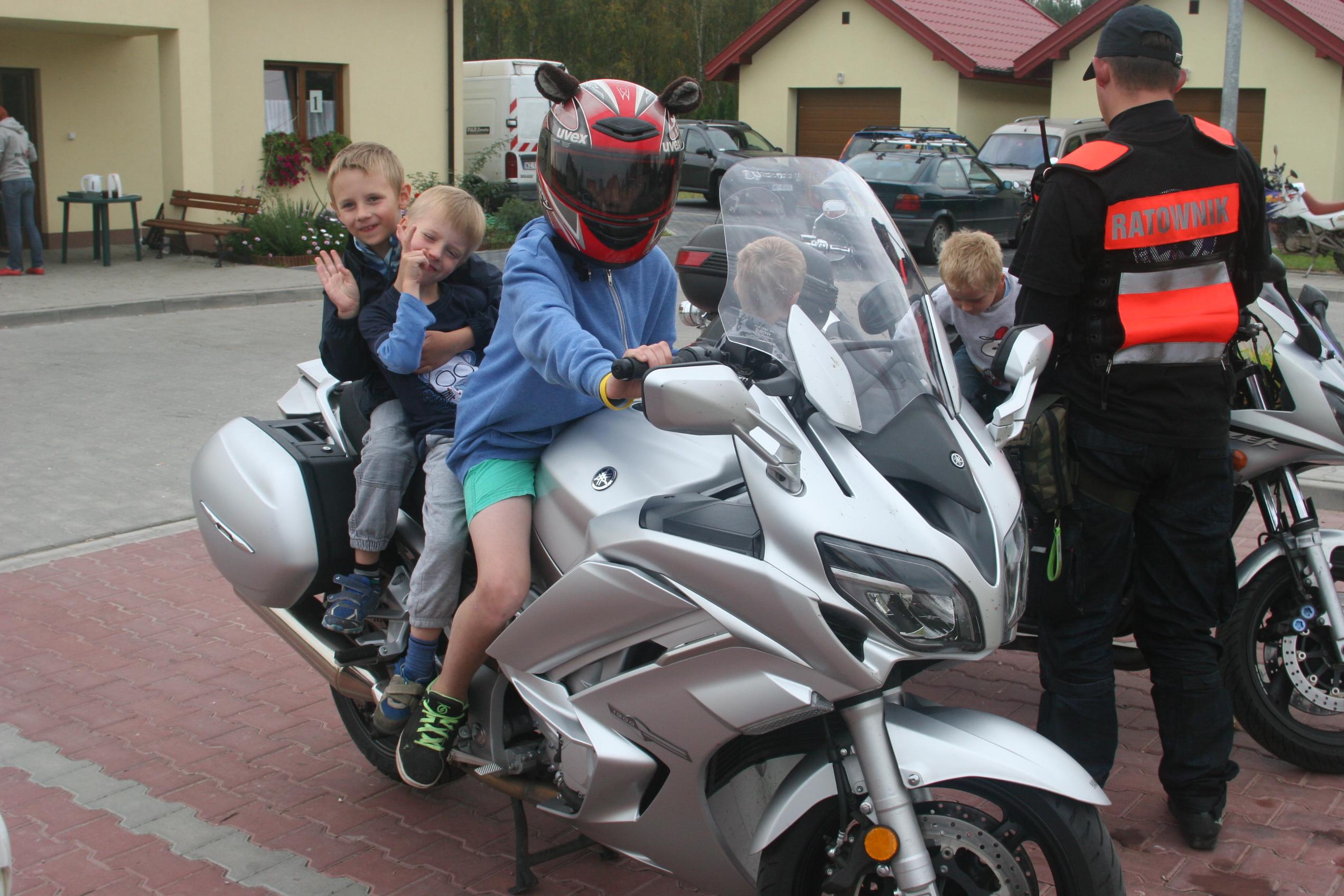 Motocykle są wszędzie:)
