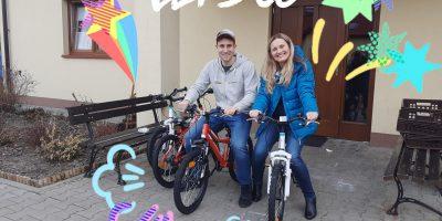 Dziękujemy za rowery!
